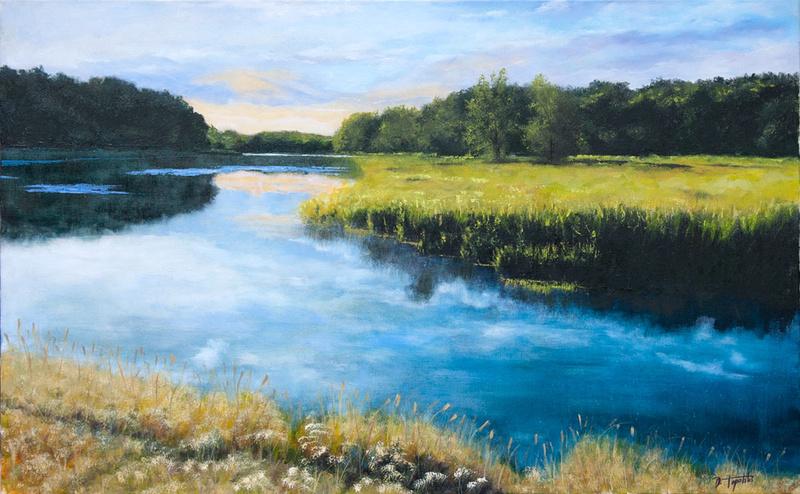 L'eau paisible des ruisseaux et petites rivières  - Page 6 Dawn-o10