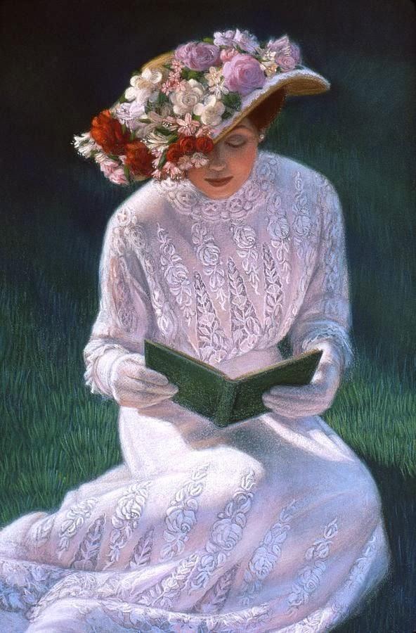 La lecture, une porte ouverte sur un monde enchanté (F.Mauriac) Halste10