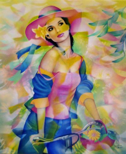 """Des élégantes  """"chapeautées"""" ... - Page 5 Jennet10"""