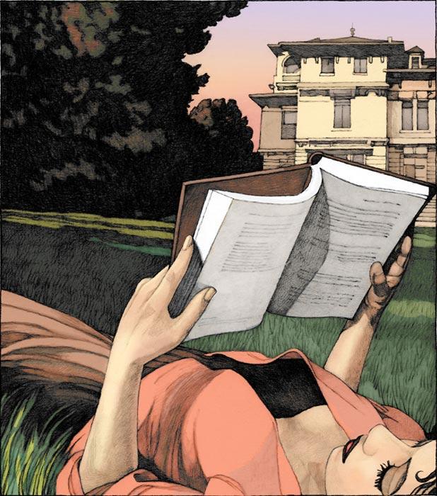 La lecture, une porte ouverte sur un monde enchanté (F.Mauriac) - Page 2 Myles_10
