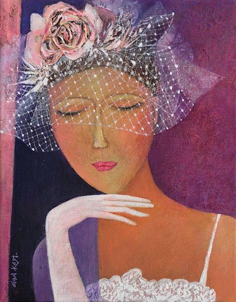 """Des élégantes  """"chapeautées"""" ... - Page 4 Olga_k11"""