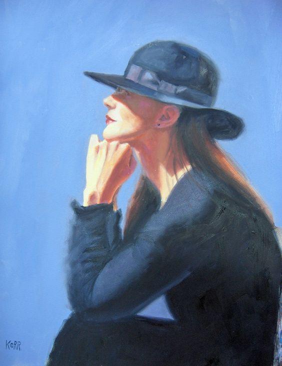"""Des élégantes  """"chapeautées"""" ... - Page 5 Pheona10"""