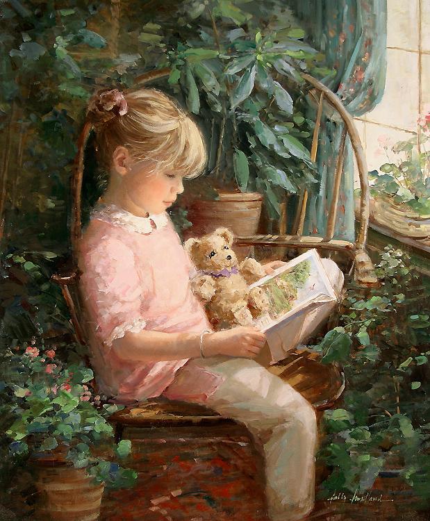 La lecture, une porte ouverte sur un monde enchanté (F.Mauriac) - Page 2 Readin10