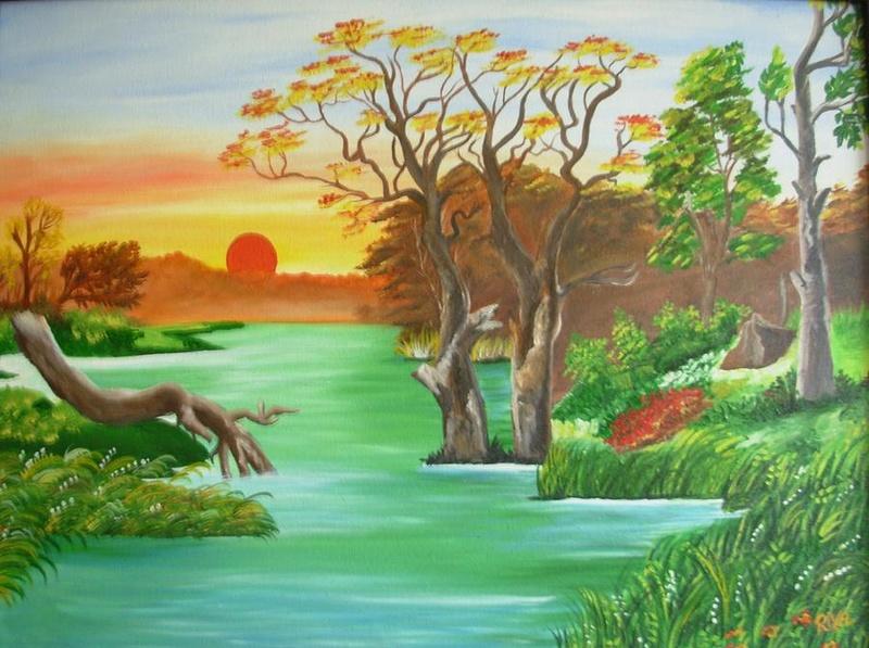 L'eau paisible des ruisseaux et petites rivières  - Page 3 Rivers10