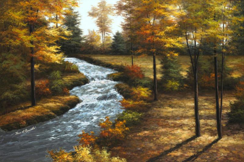 L'eau paisible des ruisseaux et petites rivières  - Page 4 Roarin10