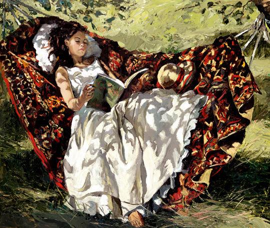 La lecture, une porte ouverte sur un monde enchanté (F.Mauriac) Sherre11