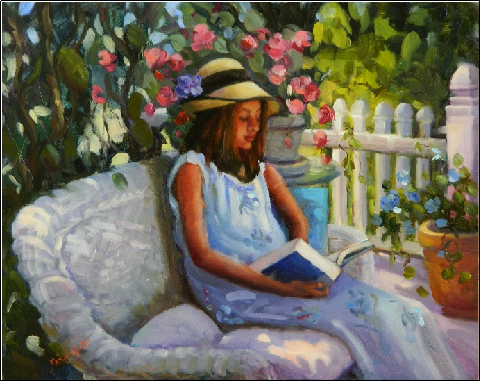 La lecture, une porte ouverte sur un monde enchanté (F.Mauriac) Summer11