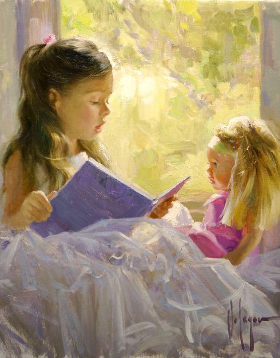 La lecture, une porte ouverte sur un monde enchanté (F.Mauriac) Vladim15