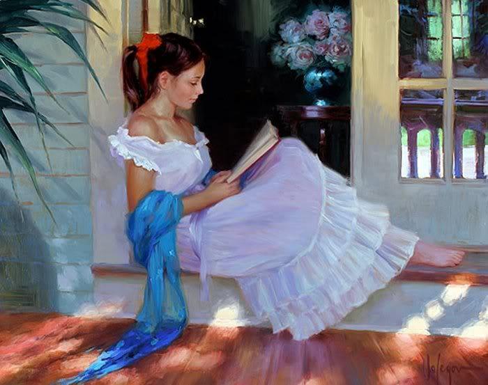 La lecture, une porte ouverte sur un monde enchanté (F.Mauriac) Vladim16