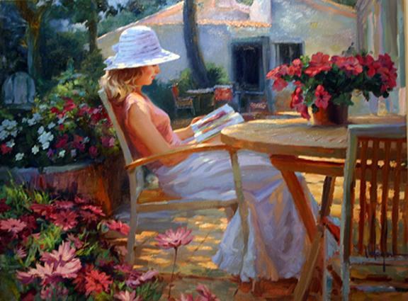 La lecture, une porte ouverte sur un monde enchanté (F.Mauriac) Vladim17