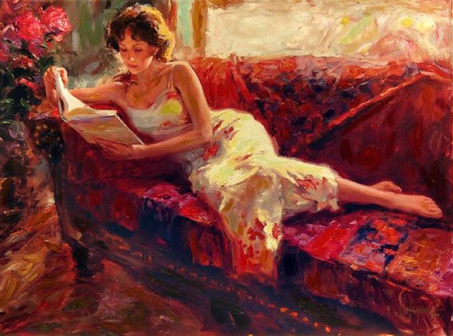 La lecture, une porte ouverte sur un monde enchanté (F.Mauriac) Vladim18