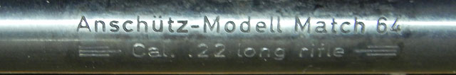 carabine anschutz 54 match Photo511