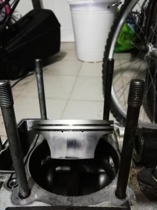 KTM SXF 450 2007 - Démontage moteur Piston14
