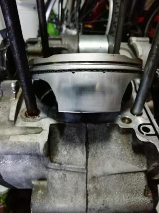 KTM SXF 450 2007 - Démontage moteur Piston15