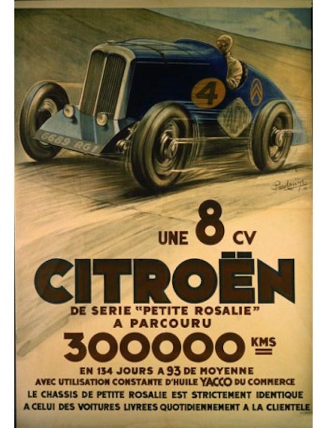 """Les """"Rosalie"""" Citroën des records YACCO Citroy12"""
