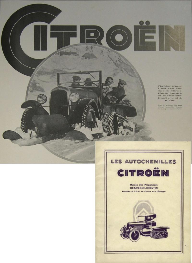 André Citroën à la neige ! Docume11