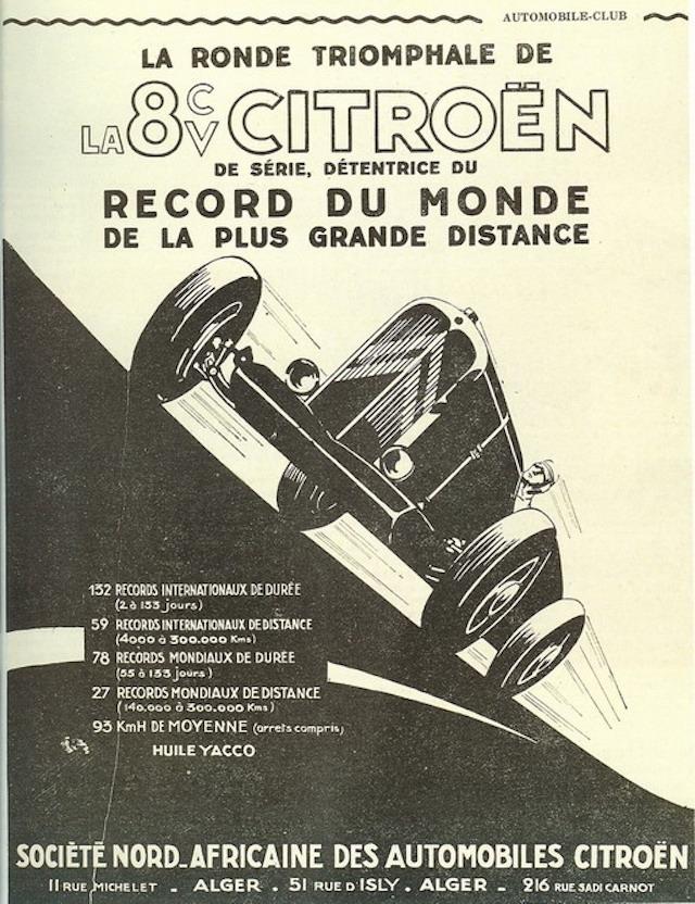 "Les ""Rosalie"" Citroën des records YACCO Record10"