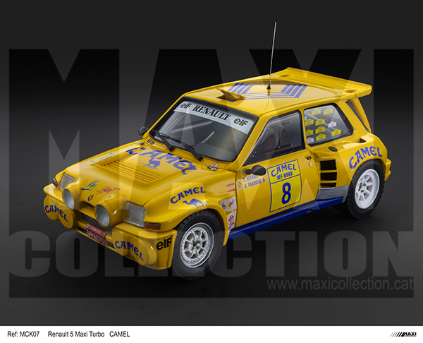 Nouvelle kit resine Renault 5 Maxi Turbo  - Page 2 Camel_10