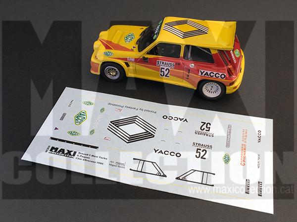 Renault 5 Maxi Philippe Touren au Rally Ypres 1986 Img_2510