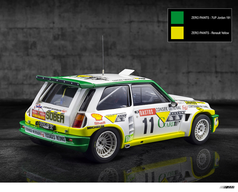 Renault 5 Maxi Philippe Touren au Rally Ypres 1986 Instru10