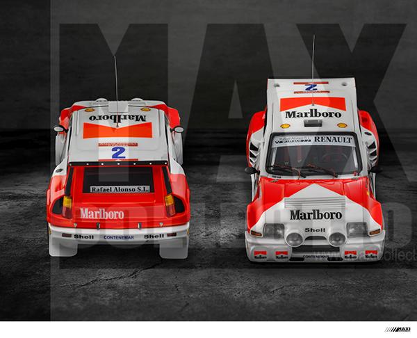 Nouvelle kit resine Renault 5 Maxi Turbo  - Page 2 Marlbo11