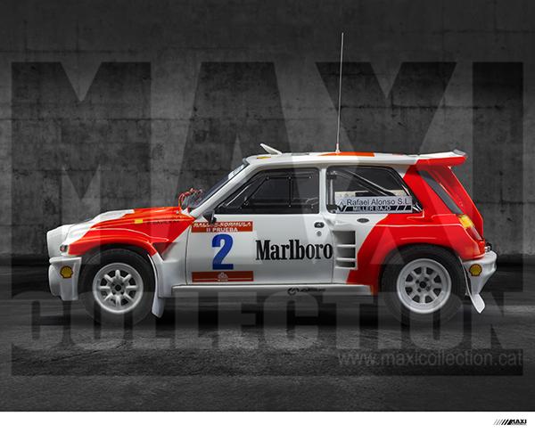 Nouvelle kit resine Renault 5 Maxi Turbo  - Page 2 Marlbo12