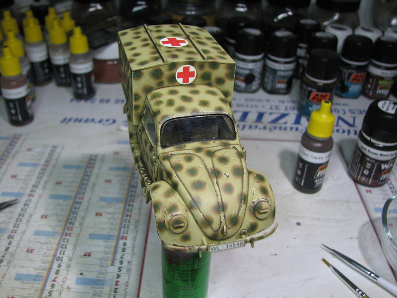 Coccinelle ambulance CMK  , figurines et photodécoupe  - 1/35 - Page 2 Img_5033