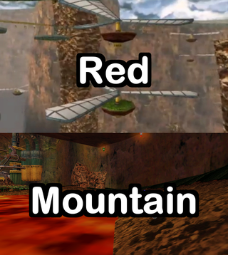 Chao Garden Rush : Red Mountain Red_mo10