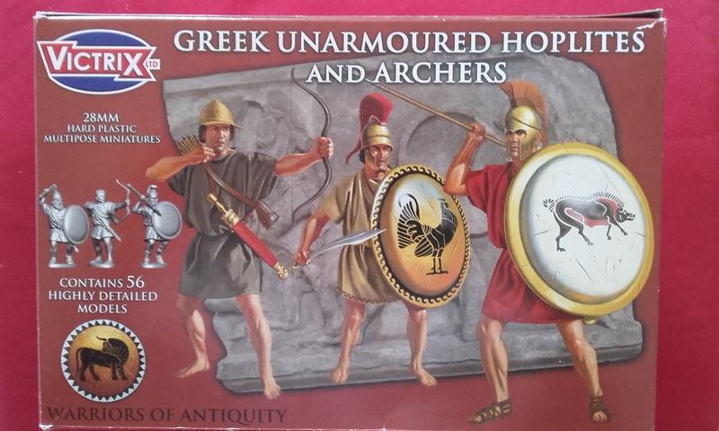 [CDAn°5] hoplites legers qui serviront de thraces , et peut etre des frondeurs ... 20160910