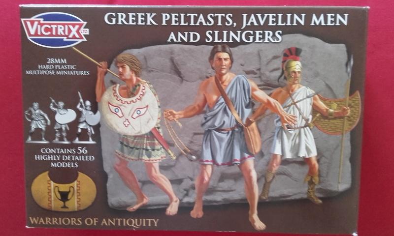 [CDAn°5] hoplites legers qui serviront de thraces , et peut etre des frondeurs ... 20160911