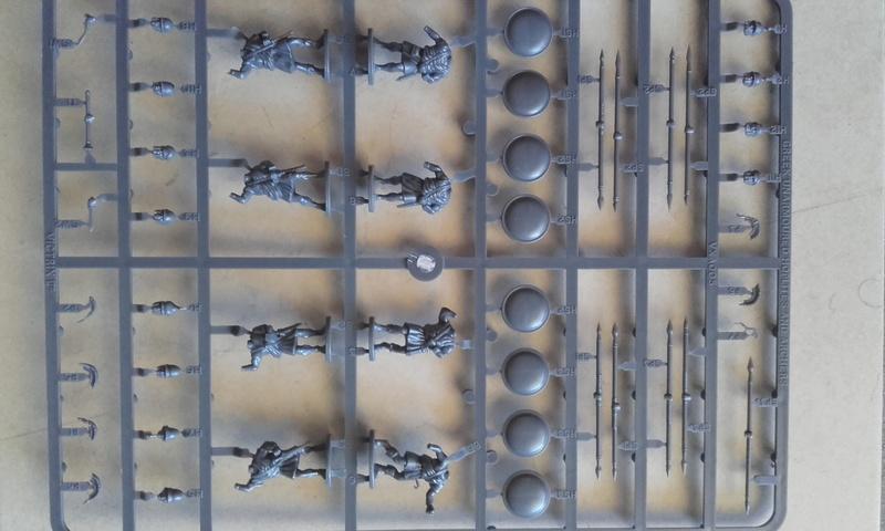 [CDAn°5] hoplites legers qui serviront de thraces , et peut etre des frondeurs ... 20160912