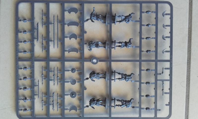 [CDAn°5] hoplites legers qui serviront de thraces , et peut etre des frondeurs ... 20160913