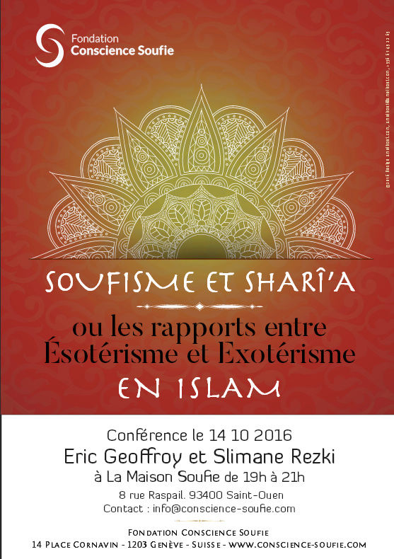 Rencontres et événements spiritualité musulmane  ( soufisme...) Consci10