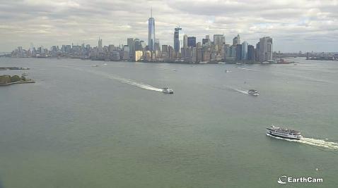 США. Нью-Йорк. Вид со статуи свободы. Yi_ae-11
