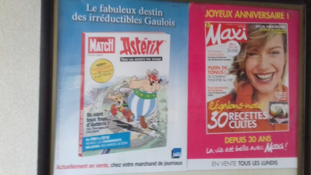 Paris Match Hors série avec Astérix - 06 octobre 2016 Affich10