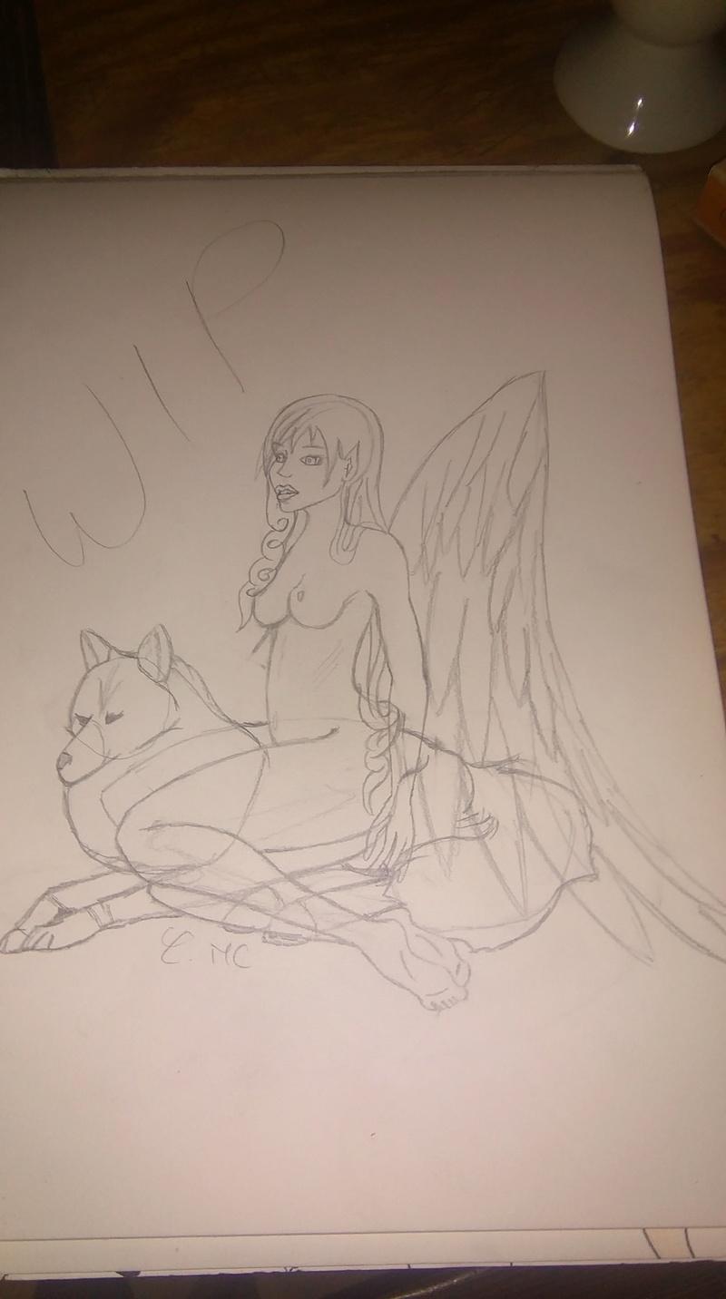 [En pause] l'ange amie des loups a dent de sabre 14759010