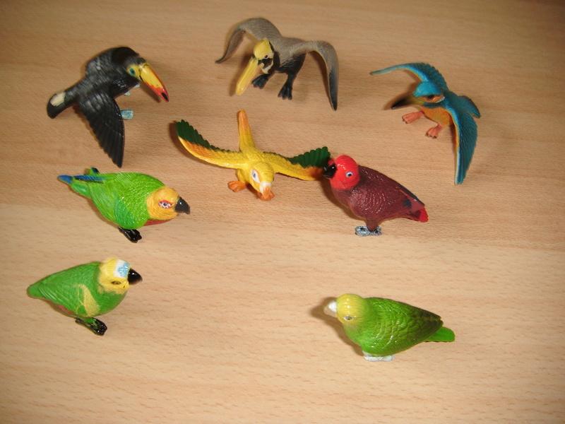 The Club Earth animals in my zoo Dscf2115