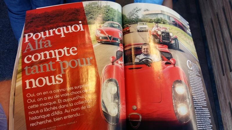 Alfa et la presse automobile - Page 38 20160911