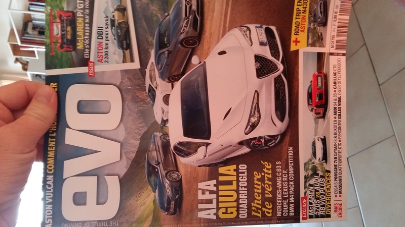 Alfa et la presse automobile - Page 38 20160913