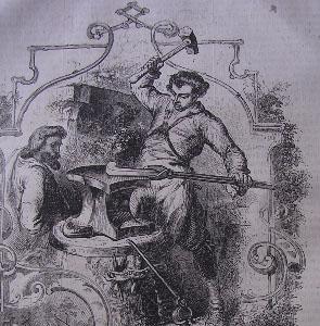 Anciens métiers par ordre alphabétique. - Page 12 Forger10