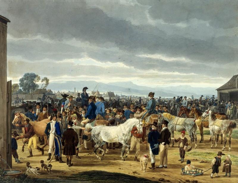 Marché aux chevaux Marchy10