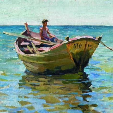 """Bateau de pêche de la mer Noire """"gabare"""" Shalan10"""