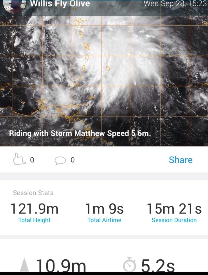 Je voulais tester la plage haute de la speed 5 6m avec Matthew Image33