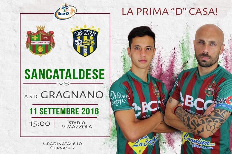 Campionato 2°giornata: SANCATALDESE - citta' di gragnano 2-1 14291710