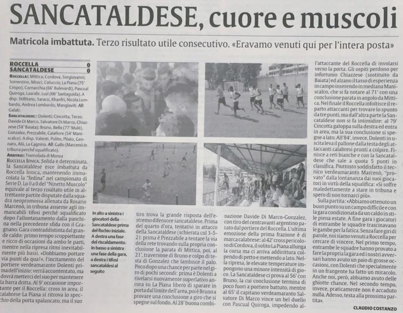 Campionato 3°giornata: roccella - SANCATALDESE 0-0 14333711