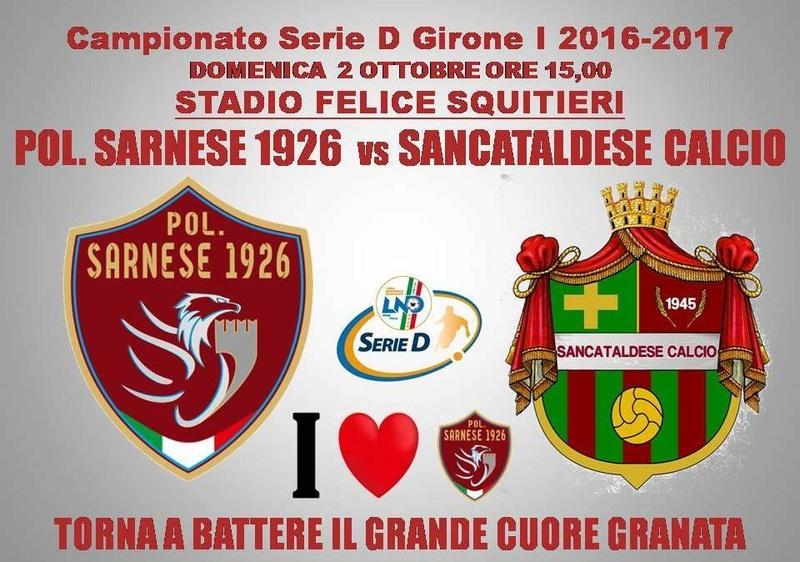 Campionato 5°giornata: sarnese - SANCATALDESE 1-0 14494710
