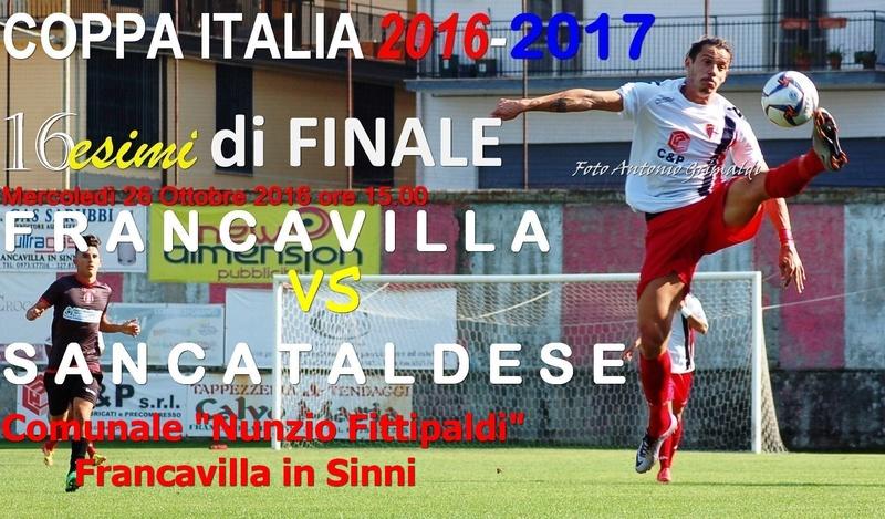 3° Turno c.i. - Gara unica: francavilla - SANCATALDESE 3-0 14680810