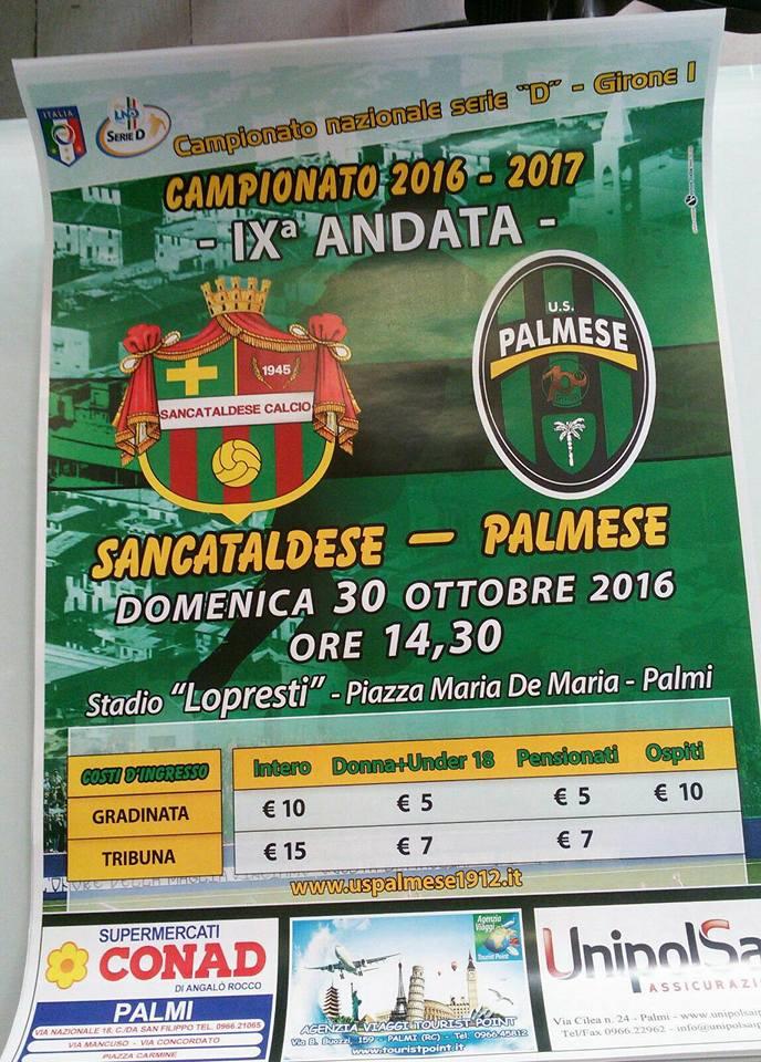 Campionato 9°giornata: palmese - SANCATALDESE 0-0 14702410