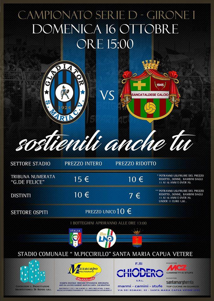 Campionato 7°giornata: gladiator - SANCATALDESE 2-0 14716110