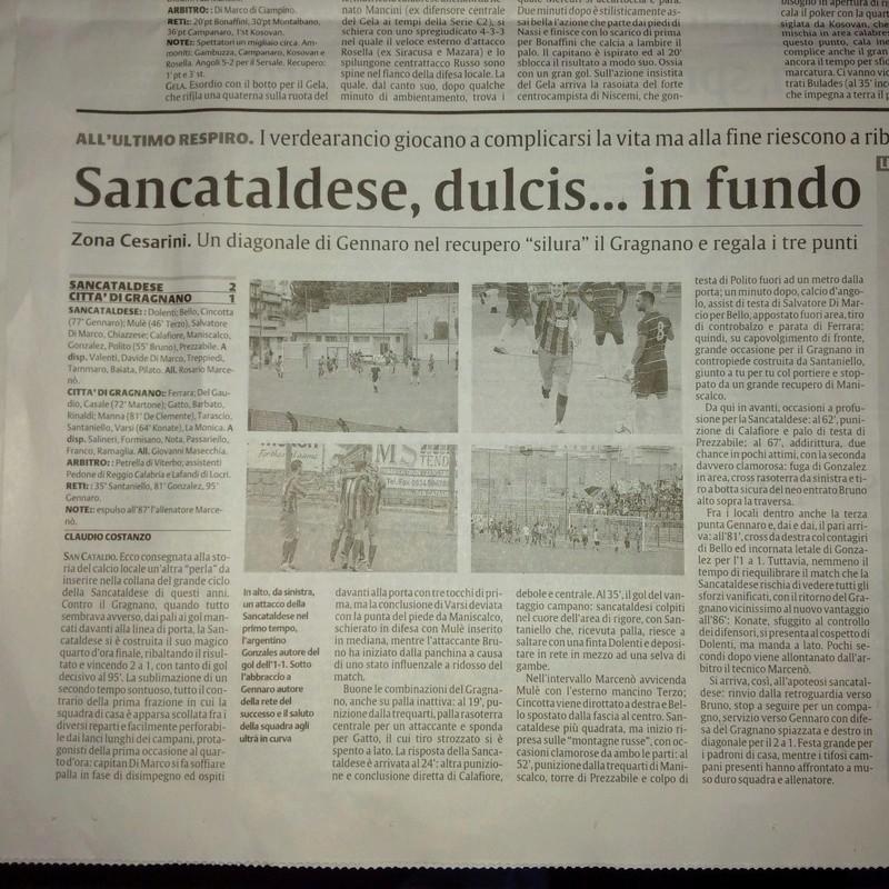 Campionato 2°giornata: SANCATALDESE - citta' di gragnano 2-1 Img-2014
